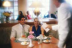 Romantic Couple in Restaurant, � FD000822 PhotoLink